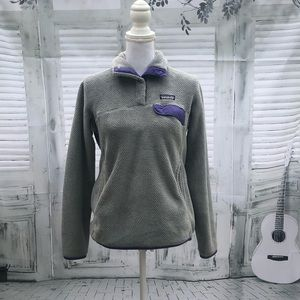 Patagonia Snap-t jacket sz medium fleece pullover